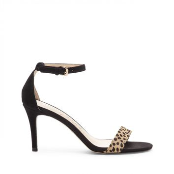 Sole Society Dace Ankle Strap Heeled Sandal