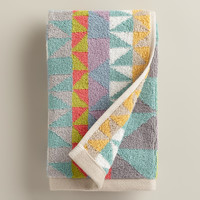 Triangle Jacquard Calisto Hand Towel