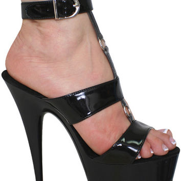 Sexy High Heels Patent 6 inch Platform Pole Dancers Shoes