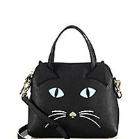 Kate Spade New York - Cat's Meow Saffiano Leather Satchel - Saks Fifth Avenue Mobile
