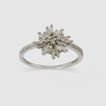 Suzanne Kalan Star Ring (White Gold)