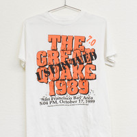 The Great Quake Vintage Tee