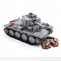 Heavy Assault Tank - Lego Compatible Toy