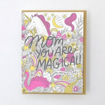 Magical Mom Mother's Day Card