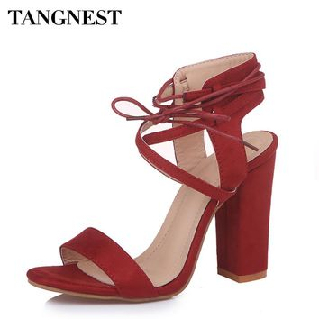 Cut-out Ankle Strap Heels