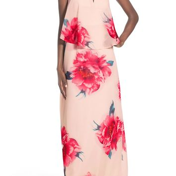 Way-In Strapless Popover Maxi Dress | Nordstrom