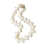 Pearl Necklace with Studs | Jewelry | The Editorialist