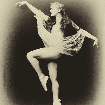 Ziegfeld Follies  photo Vintage photo Antique photograph showgirl ballet dancer ballerina 1930s -PRINT