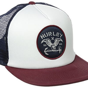 Hurley Men's All Day Hats Trucker, Midnight Navy, One Size
