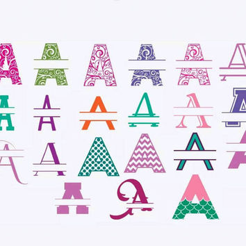 Yeti Decal, Letter name decal, car decal, personalized sticker, yeti monogram, window sticker, Oracal 651 or FDC Glitter Vinyl, 4 designs