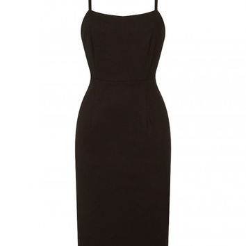 Benita Black Pencil Dress | Vintage Inspired Fashion | Lindy Bop