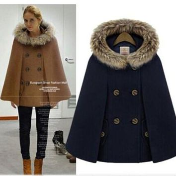 DCKL9 Scarf Winter England Style Ladies Hats Jacket [196916576282]