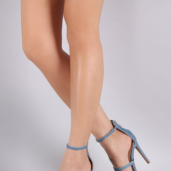 Bianca Denim Heel