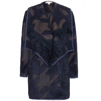 stella mccartney - federica wool and alpaca-blend coat