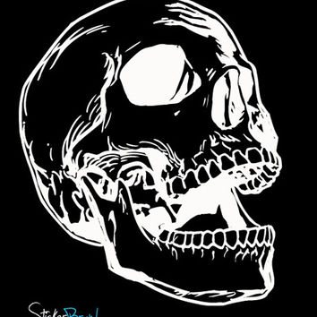 Vinyl Wall Decal Sticker Skull #657