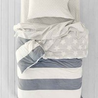 4040 Locust American Flag Twin XL Bed-In-A-Bag Snooze Set- Black & White Twin Xl