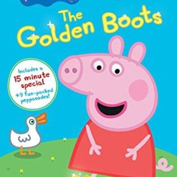 John Sparkes (voice) & Lily Snowden-Fine (voice) & Mark Baker & Neville Astley-Peppa Pig: The Golden Boots