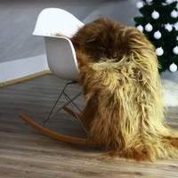 AUTUMN SALE - 5% Exclusive Genuine Natural Icelandic Sheepskin Rug, Pelt, GIANT Xxxxl blonde
