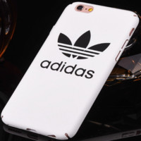 "Simple Clover ""Adidas"" Letter Apple iPhone 6/6Plus Hard Shell Case iPhone 7 Phone Case"