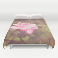 A Rose By Any Other Name... Duvet Cover by Dena Brender Photography