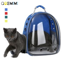 New Arrival Pet Backpack Cat Carrier Transparent Outdoor Puppy Dog Carrier Breathable Cat Supplies Backpack for Cat