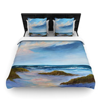 "Rosie Brown ""Summer Showers"" Beach Woven Duvet Cover"