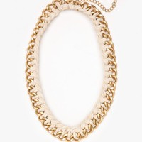 Braid Chain Necklace