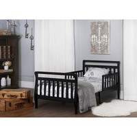 Kids Unique Toddler Sleigh Bed, Bedroom Furniture
