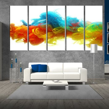 Abstract Wall Art shop colorful abstract wall art on wanelo