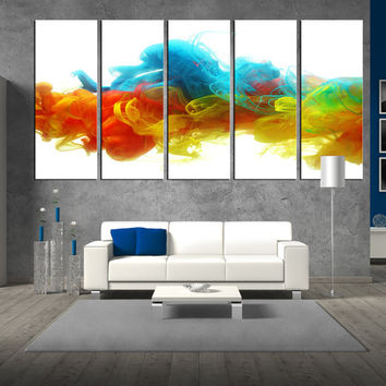 Wall Art Large large canvas painting wall art, large from artcanvasshop on etsy