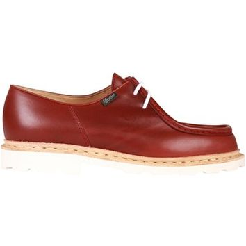 Paraboot Michael Marche II Blanche Lis Bordeaux Shoes 715619 | Pritchards