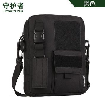 Sports gym bag Protector Plus K316 Outdoor  Camouflage Nylon Tactical Military Messenger Bag Ipad Bag KO_5_1