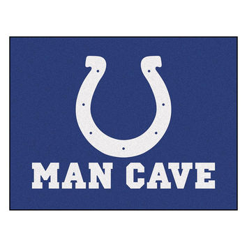 Indianapolis Colts NFL Man Cave All-Star Floor Mat (34in x 45in)