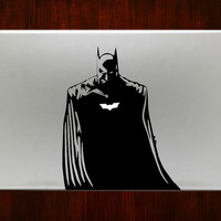 "Batman Half Body M594 Design Decal Sticker Vinyl For Macbook Pro Air Retina 13"" 15"" 17"" Inch Laptop Cover"