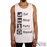 Eat Sleep Party Tank