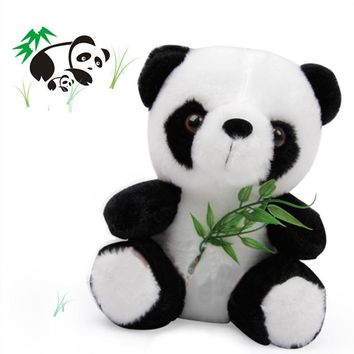 18cm Lovely BAMBOO Panda Plush Toy Kids Soft Small Charms Stuffed Animal KeyChain Plush Doll Toys Final Fantasy Plush Toy