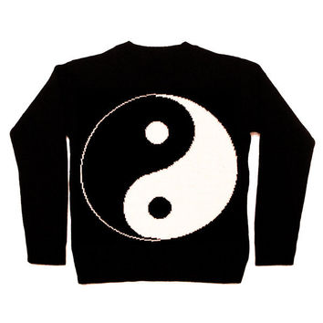 Yin Yang Knit Sweatshirt | KILL STAR