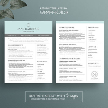 Home Design Ideas Free Resume Templates For Pages One Page Resume