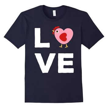 Chicken Shirt - Love Chicken Tshirt