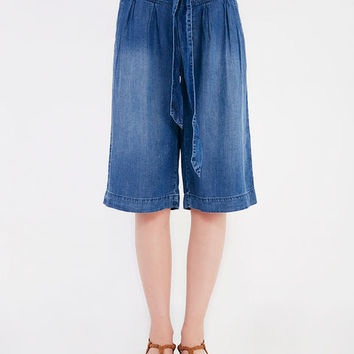 Tencil Culotte Pants With Sash | Wet Seal
