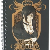 Black Butler Notebook: Sebastian