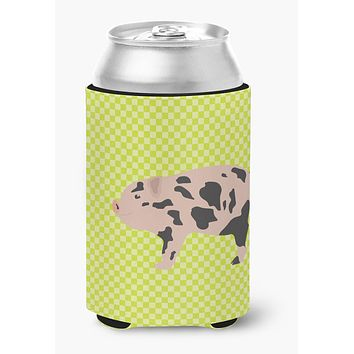 Mini Miniature Pig Green Can or Bottle Hugger BB7761CC