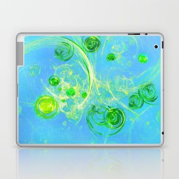 Summer Tree of Life - #Abstract #Art by Menega Sabidussi #society6 Laptop & iPad Skin by Menega Sabidussi