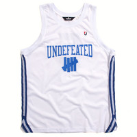University Basketball Jersey White