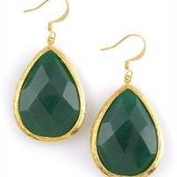 CUSP | Accessories | Jewelry | Earrings | Teardrop Earrings, Emerald (Cusp Most Loved!)