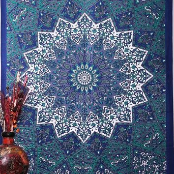 210x148cm Indian Hippie Home Decorative Tapestries Boho Beach Yoga Mat Bedspread Table Cloth Wall Hanging Mandala Tapestry