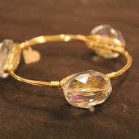 Love, Poppy Stone Bangle
