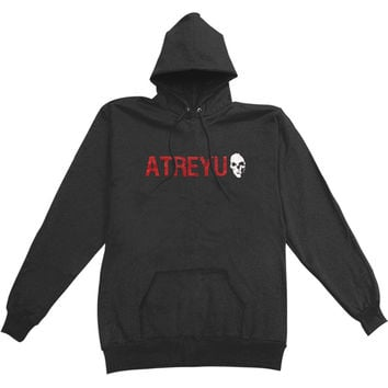 Atreyu Men's  Hooded Sweatshirt Black