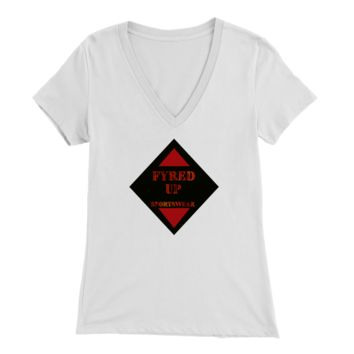 Original Fyred Up sportswear Womens Vneck