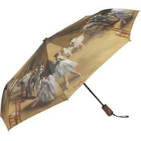 Galleria Degas Ballerinas Auto Super-Mini Umbrella